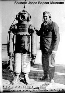 1917 Commercial Dive Suit